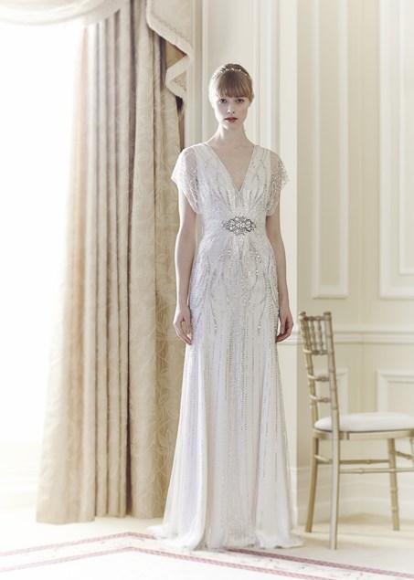 """Jenny Packham Bridal   la femminile collezione vintage """"Fall 2014 ... 7b84c751d84"""