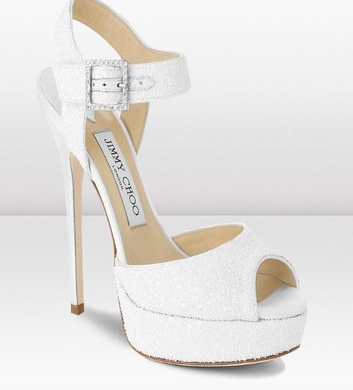 ... collezione di scarpe da sposa firmate Jimmy Choo  ABITI DA SPOSA