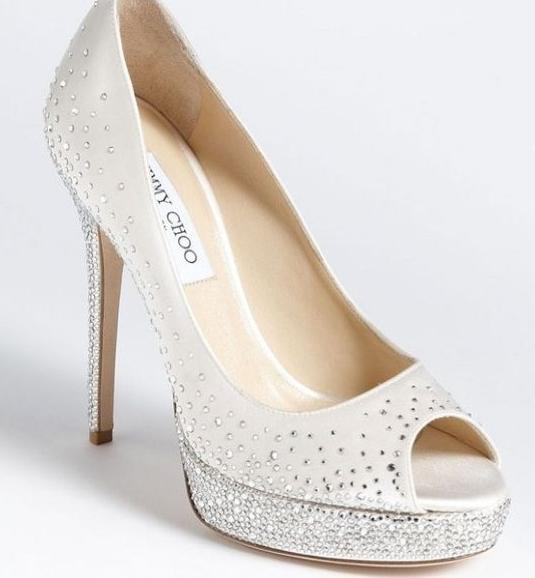 Jimmy Choo collezione 2014 scarpe sposa modello salt