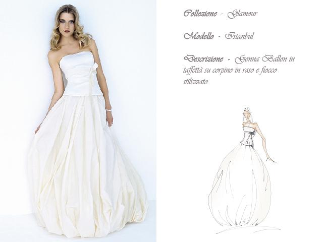 Claraluna collezione 2014 allure retro abito sposa modello istanbul