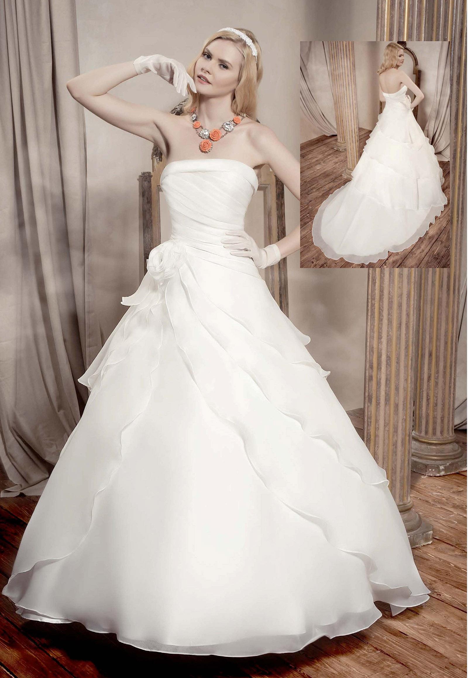 ece3302c250b Abiti Sposa Collezione » Delsa collezione perle abiti sposa da ...