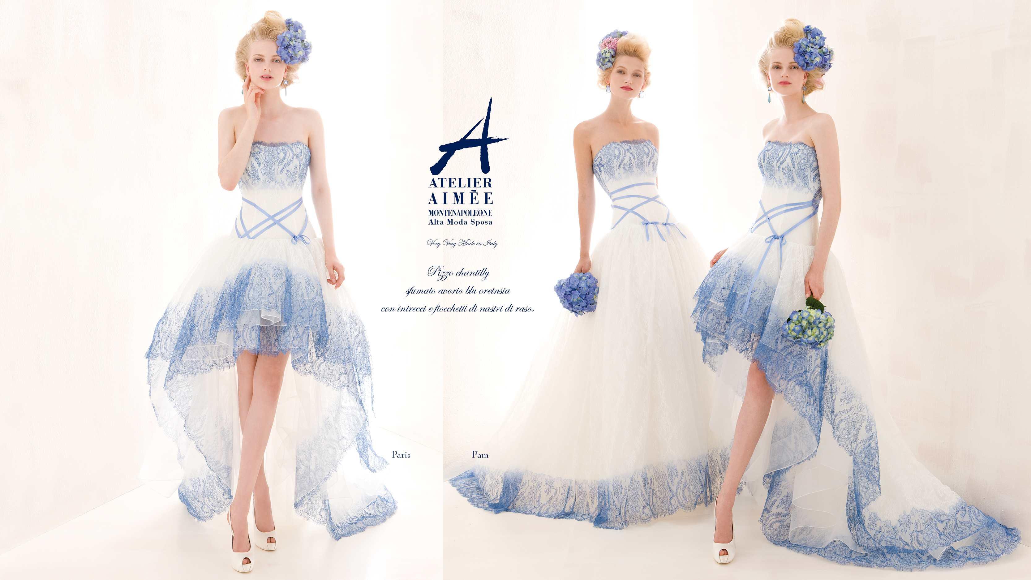 ... Aimee collezione 2014 Verde Tiffany abiti sposa (5)  ABITI DA SPOSA