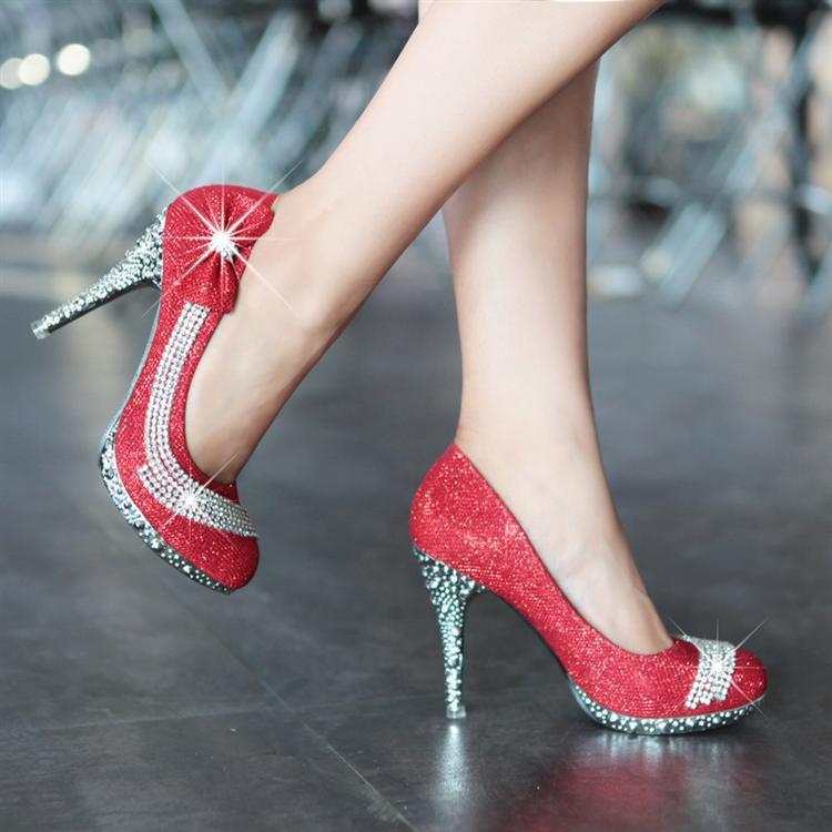 Colore 2014 scarpe sposa