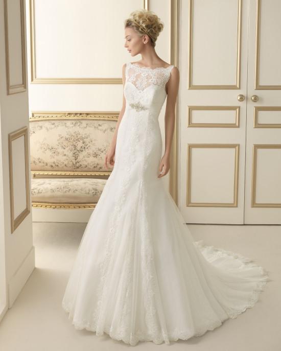 Luna Novias di Rosa Clarà : romantici abiti da sposa nella collezione ...