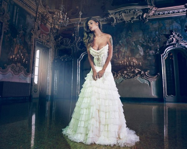 3dd7972f00ff Vanitas e Belen Rodriguez   la collezione 2014 di abiti sposa ...