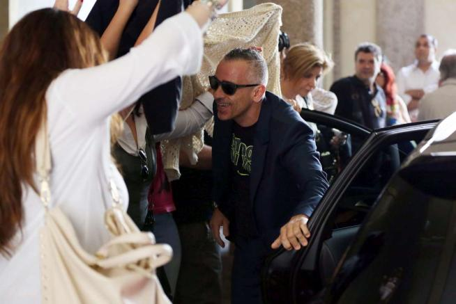 Il matrimonio civile di eros ramazzotti e marica for Differenza unione civile e matrimonio
