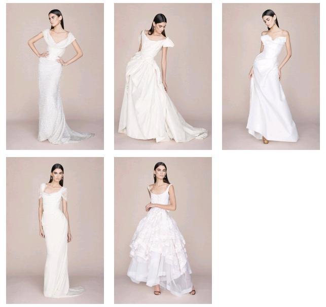 Vivienne Westwood   eleganza sobria e candida per gli abiti da sposa 2015 f89c0cdab45