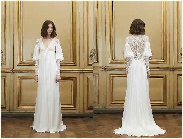 ... in cui gli abiti da sposa rispolverano un animo un po  vintage atto a  contrapporsi ad un intenso stile contemporaneo f5f16daa655