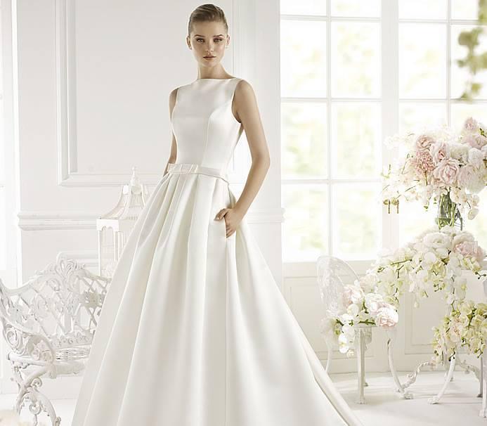 Avenue diagonal collezione 2015 abiti sposa2 abiti da sposa for Stile minimal vestiti