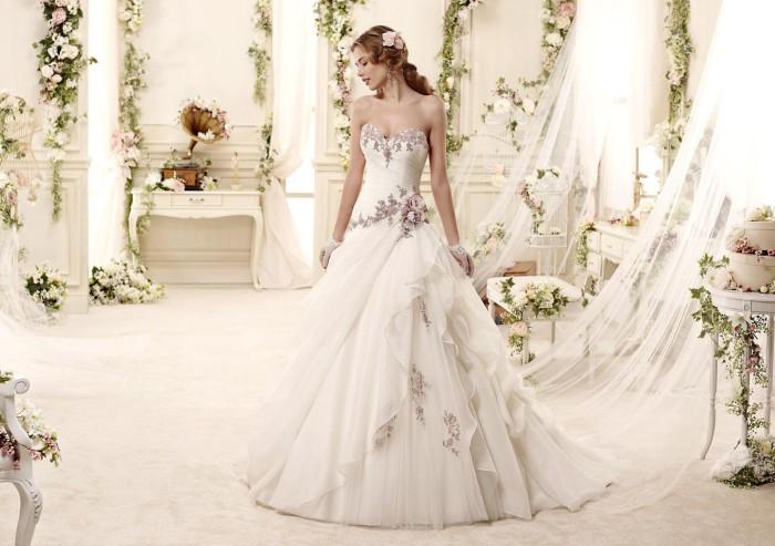 ... la romantica collezione Colet 2015 di abiti da sposa  ABITI DA SPOSA