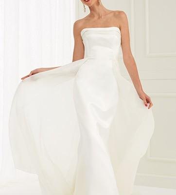 Claraluna collezione 2015 La Vie En Rose abiti sposa modello Saba