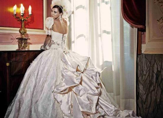 """Amelia Casablanca   lo stile principesco degli abiti da sposa 2015 del suo  """"Gattopardo"""" 88a3c78ae1e5"""