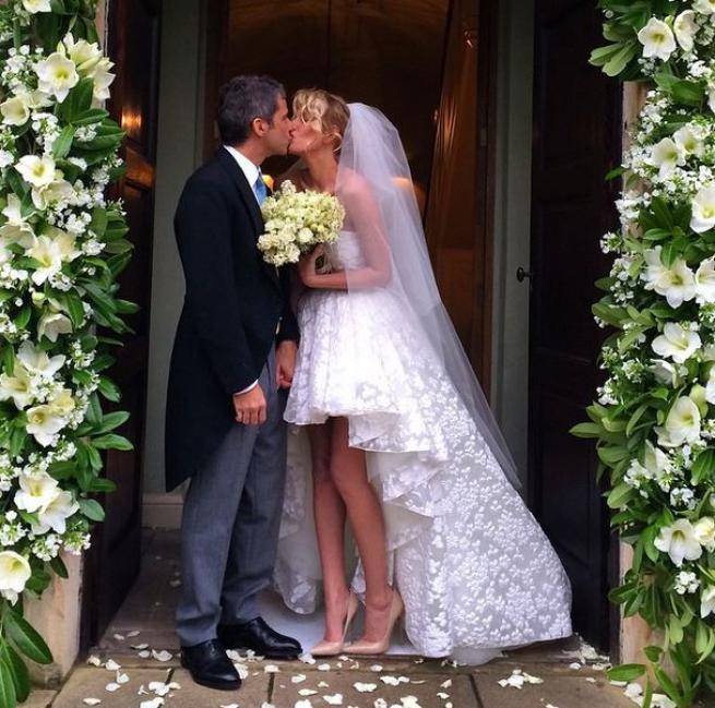 Alessia Marcuzzi e Paolo Calabresi Marconi nozze a sorpresa