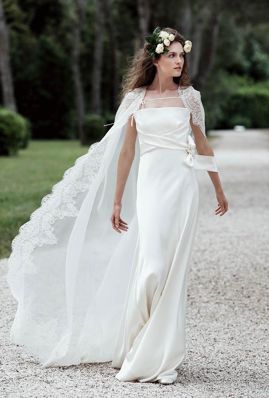 hot sales 3bbbb 09b1a Alberta Ferretti collezione Forever 2016 abito sposa Vesta ...