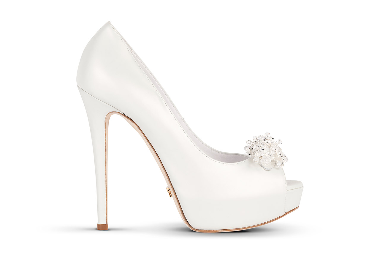 Mascia Mandolesi scarpe sposa 2015 Swarovski