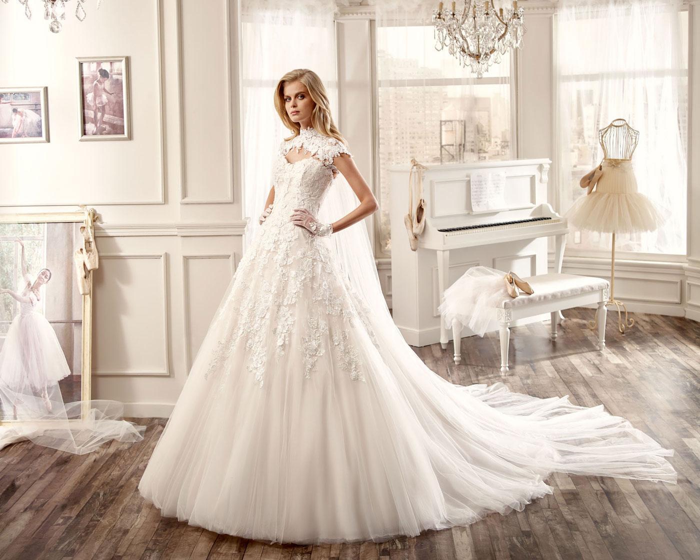 Estremamente Nicole Spose collezione 2016 abiti sposa10 | ABITI DA SPOSA BA31
