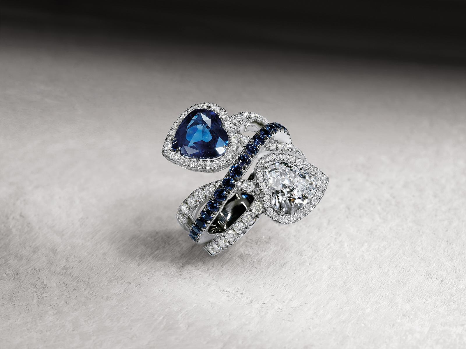 Soprana anello fidanzamento Crivelli