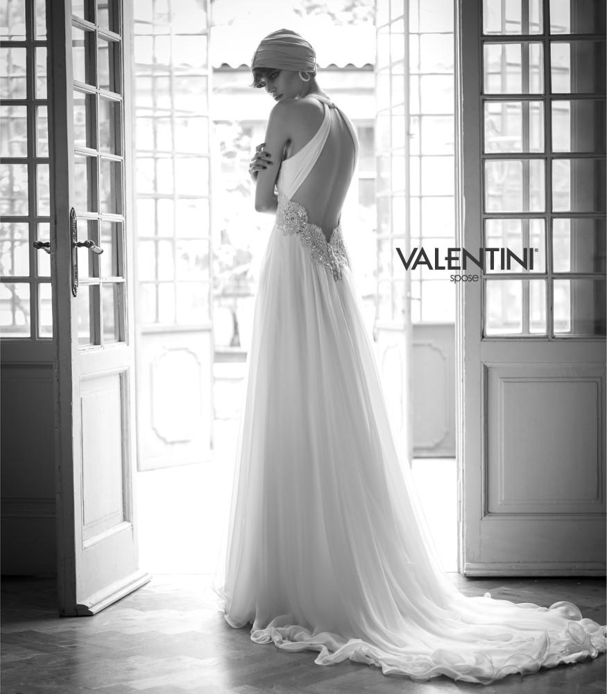 cf200c52ee36 Valentini Spose collezione 2015 abiti sposa modello Gemma