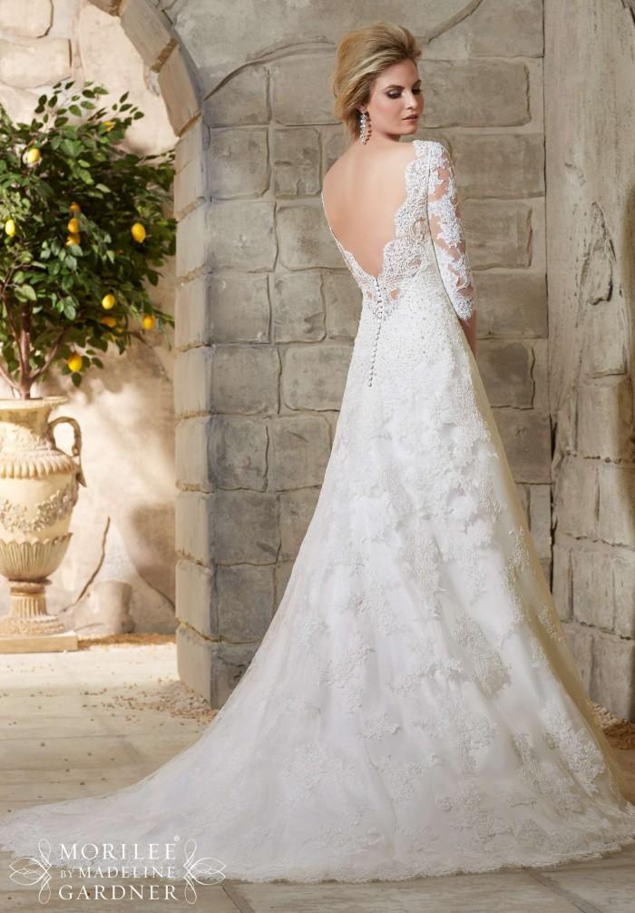 Vestiti da sposa con manica lunga