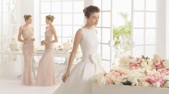 Aire Barcellona   la principesca e romantica collezione 2016 di abiti da  sposa dallo stile classico ed intramontabile 8e450f4f9ec