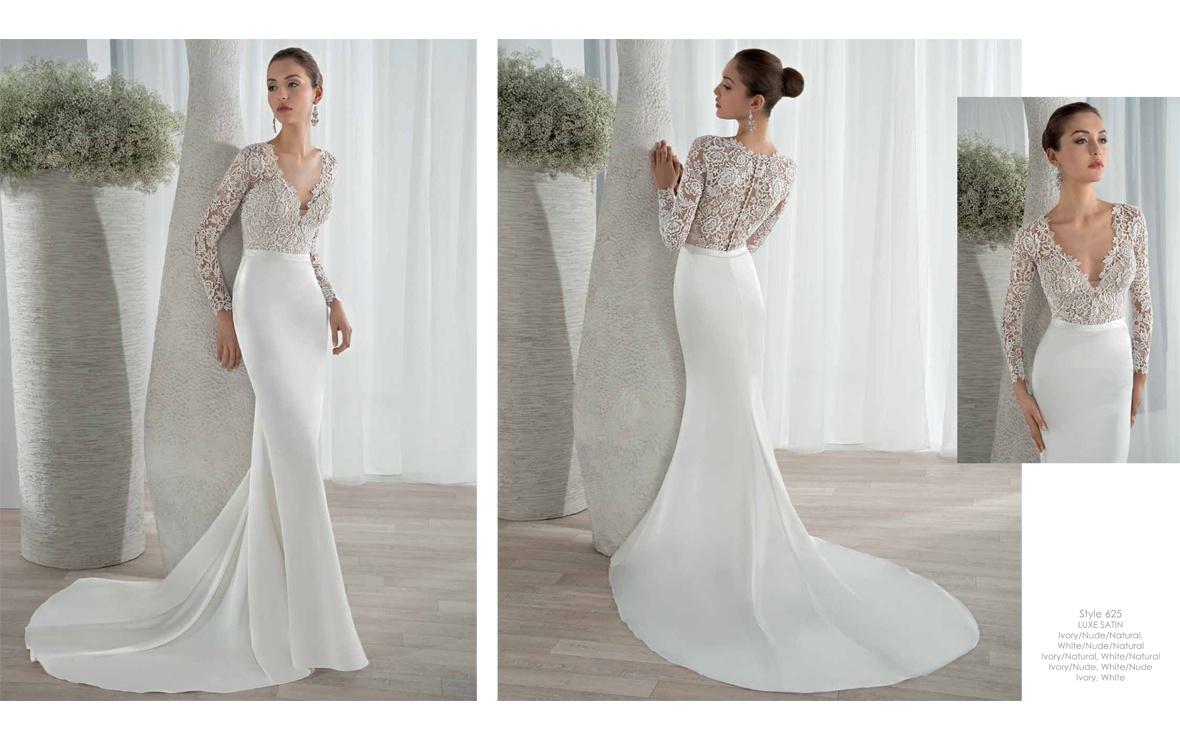 Demetrios collezione 2016 abiti sposa30 abiti da sposa for Long sleek wedding dresses