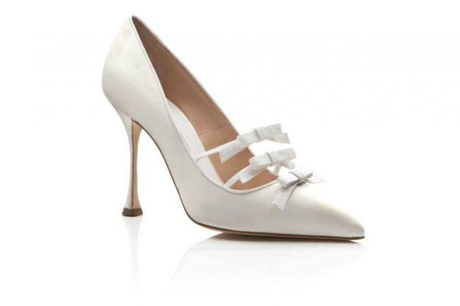 Manolo Blahnik collezione 2016 scarpe sposa Lazzo