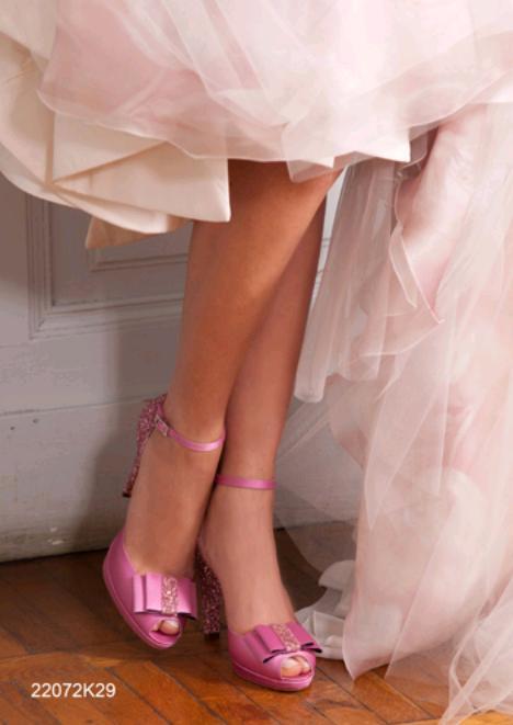 Penrose O Pen collezione 2016 scarpe sposa rosa