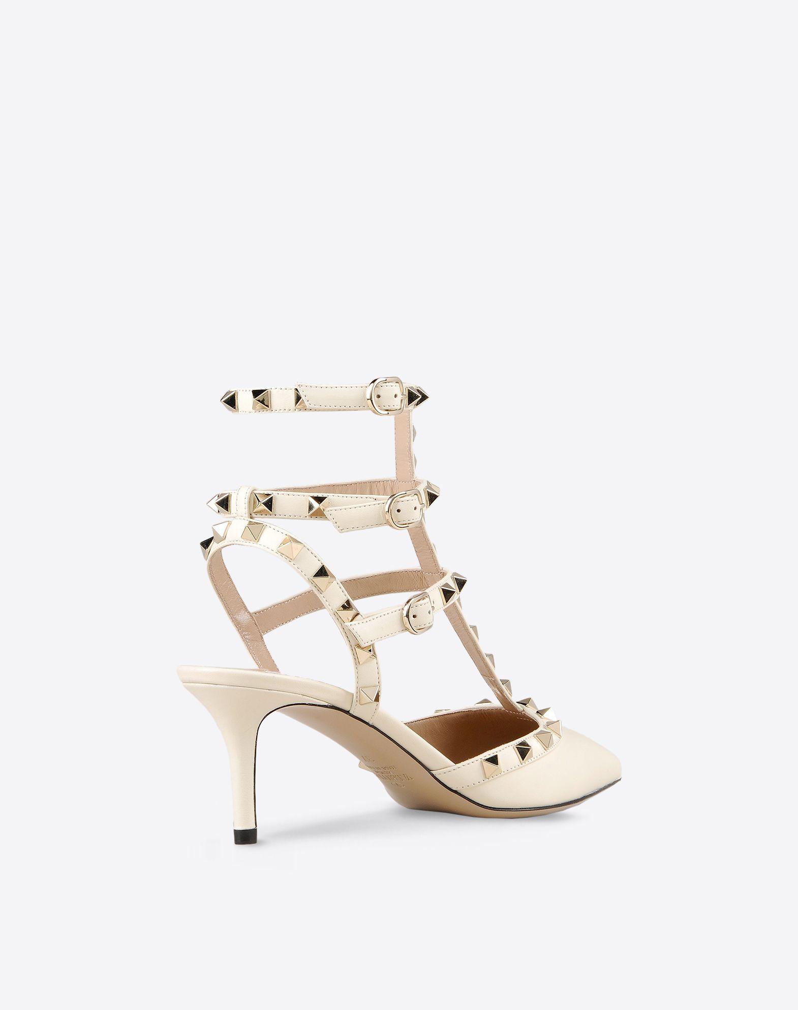 Valentino collezione 2016 scarpe sposa Ankle strap Rockstud1  93ca7161677
