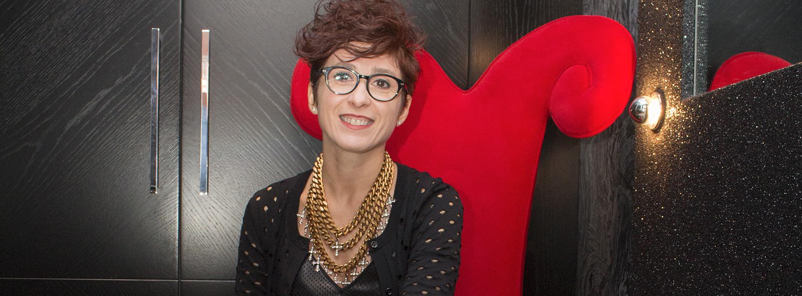 Graziana Valentini stilista atelier abiti sposa