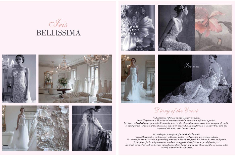 Iris Noble rivista Haute Couture collezione Bellissima 2016