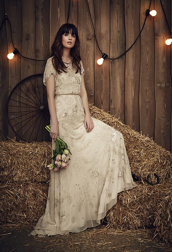 Ben noto Jenny Packham : la collezione 2017 di abiti da sposa gypsy e boho  RS16