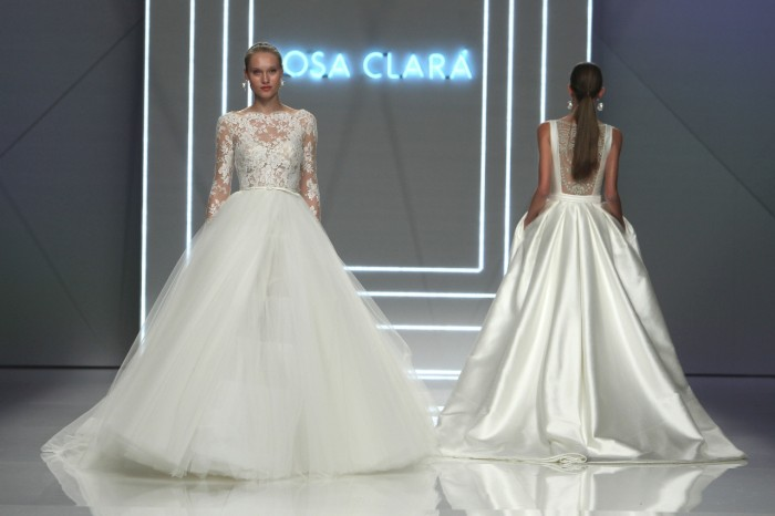 collezione Rosa romantici e per Clarà la abiti moderni da sposa IvqIznrw