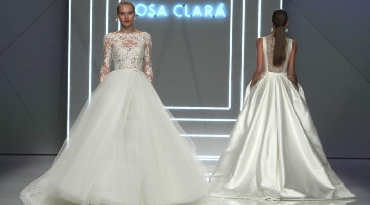 85ed492bf0f4 Rosa Clarà   abiti da sposa romantici e moderni per la collezione 2017