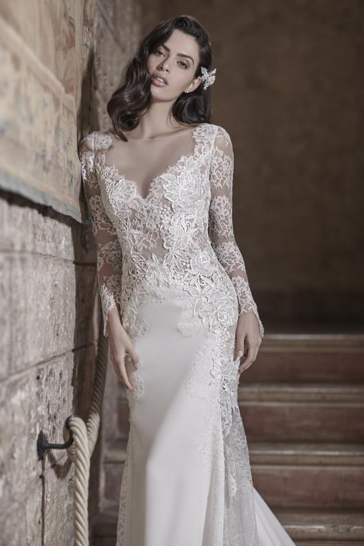 ca75d2644346 Atelier Valentini   la seduzione romantica del glamour nei nuovi abiti da  sposa della collezione Graziana Valentini 2017