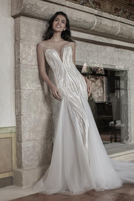 e9bf87ffc277 Atelier Valentini   la seduzione romantica del glamour nei nuovi abiti da  sposa della collezione Graziana Valentini 2017