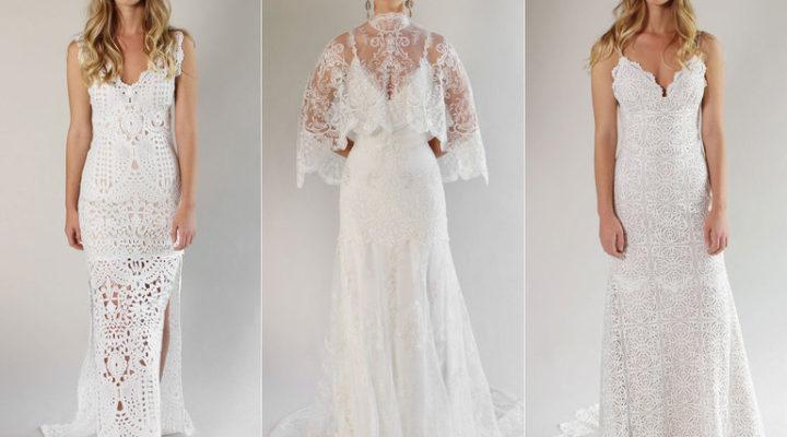 Claire Pettibone collezione 2017 abiti sposa