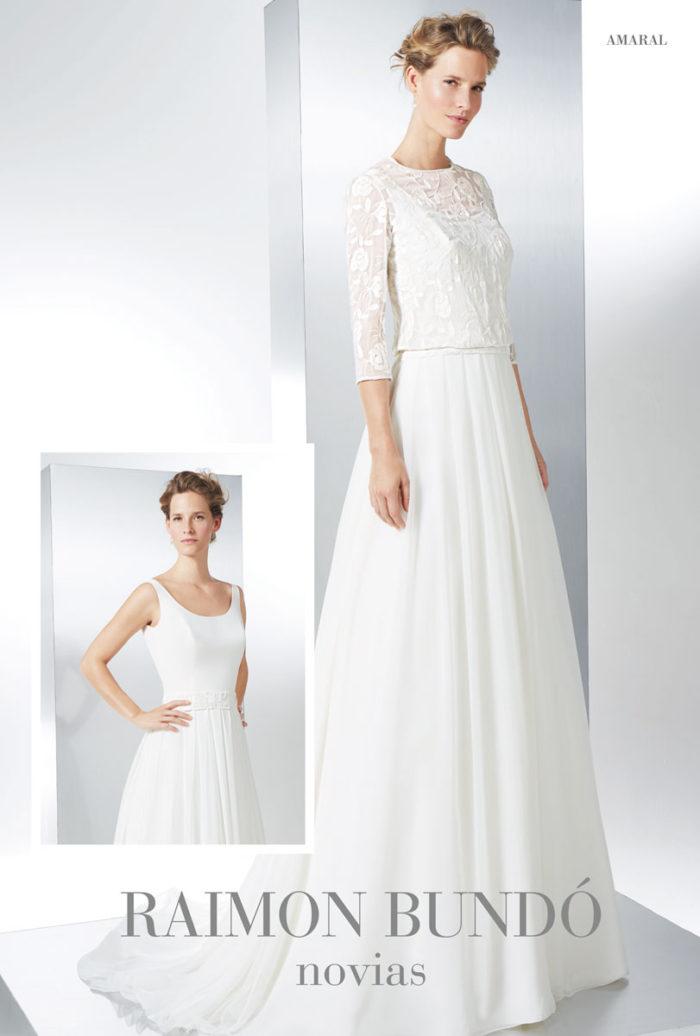 abito-sposa-Raimon Bundo-modello-Amaral