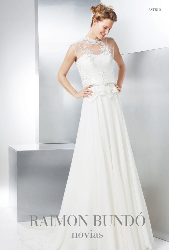 abito-sposa-Raimon Bundo-modello-Astrid