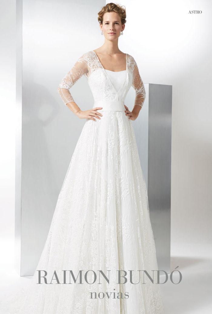 abito-sposa-Raimon Bundo-modello-Astro
