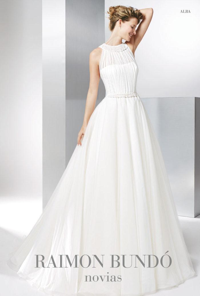 abito-sposa-Raimon Bundo-modello-alba