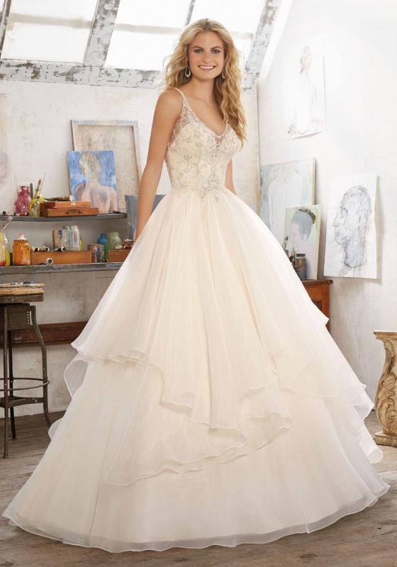abito-sposa-Mori Lee-2017-modello-madison