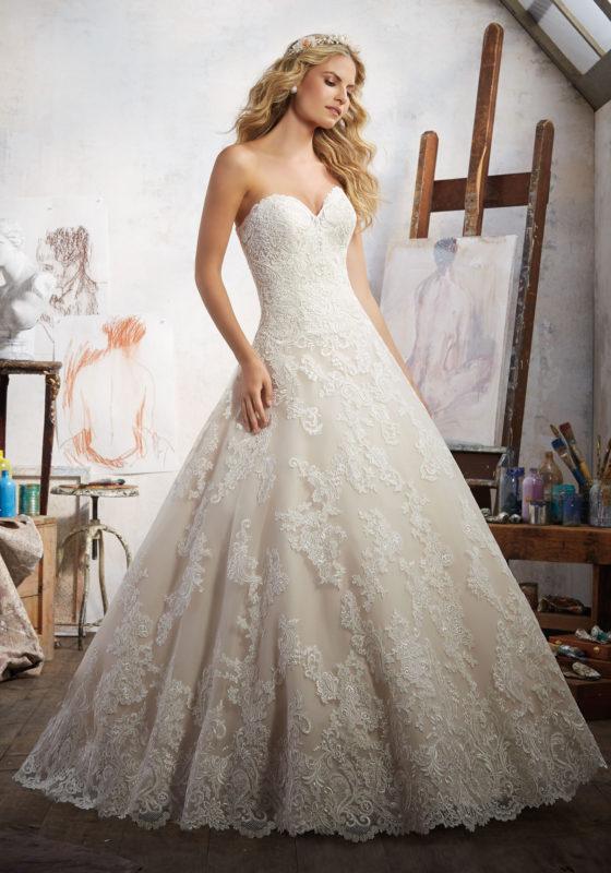 abito-sposa-Mori Lee-2017-modello-magdalena-1