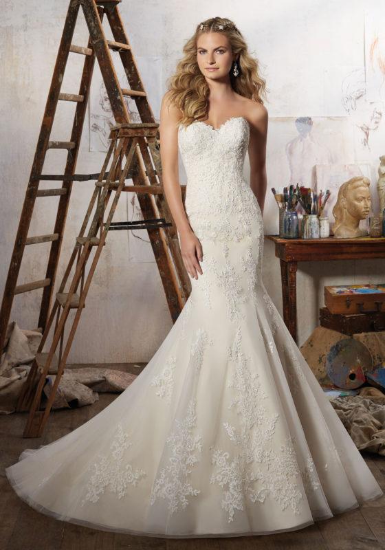 abito-sposa-Mori Lee-2017-modello-magnolia