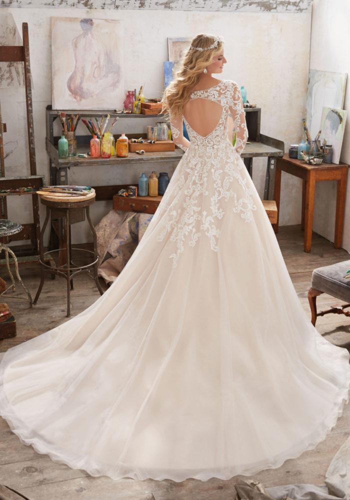 abito-sposa-Mori Lee-2017-modello-maira