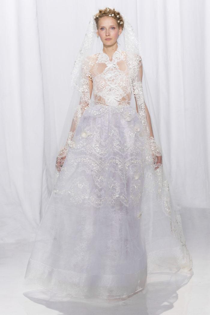 abito-sposa-Reem Acra-2017-modello-look 27-couture