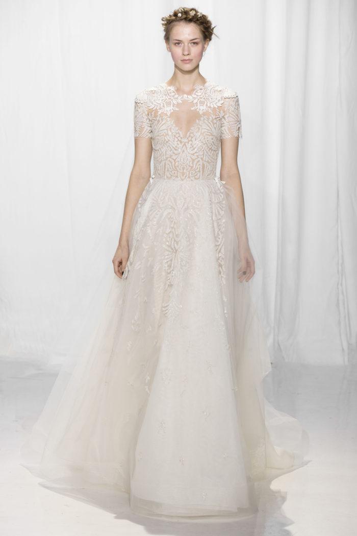 abito-sposa-Reem Acra-2017-modello-look 3-Donata