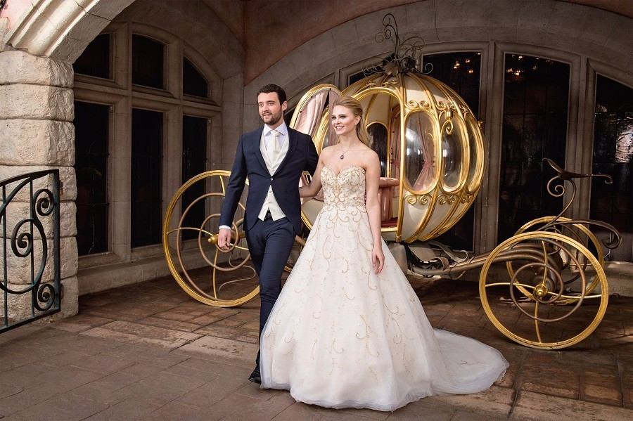 Disney's Paris Fairy Tale Weddings matrimonio
