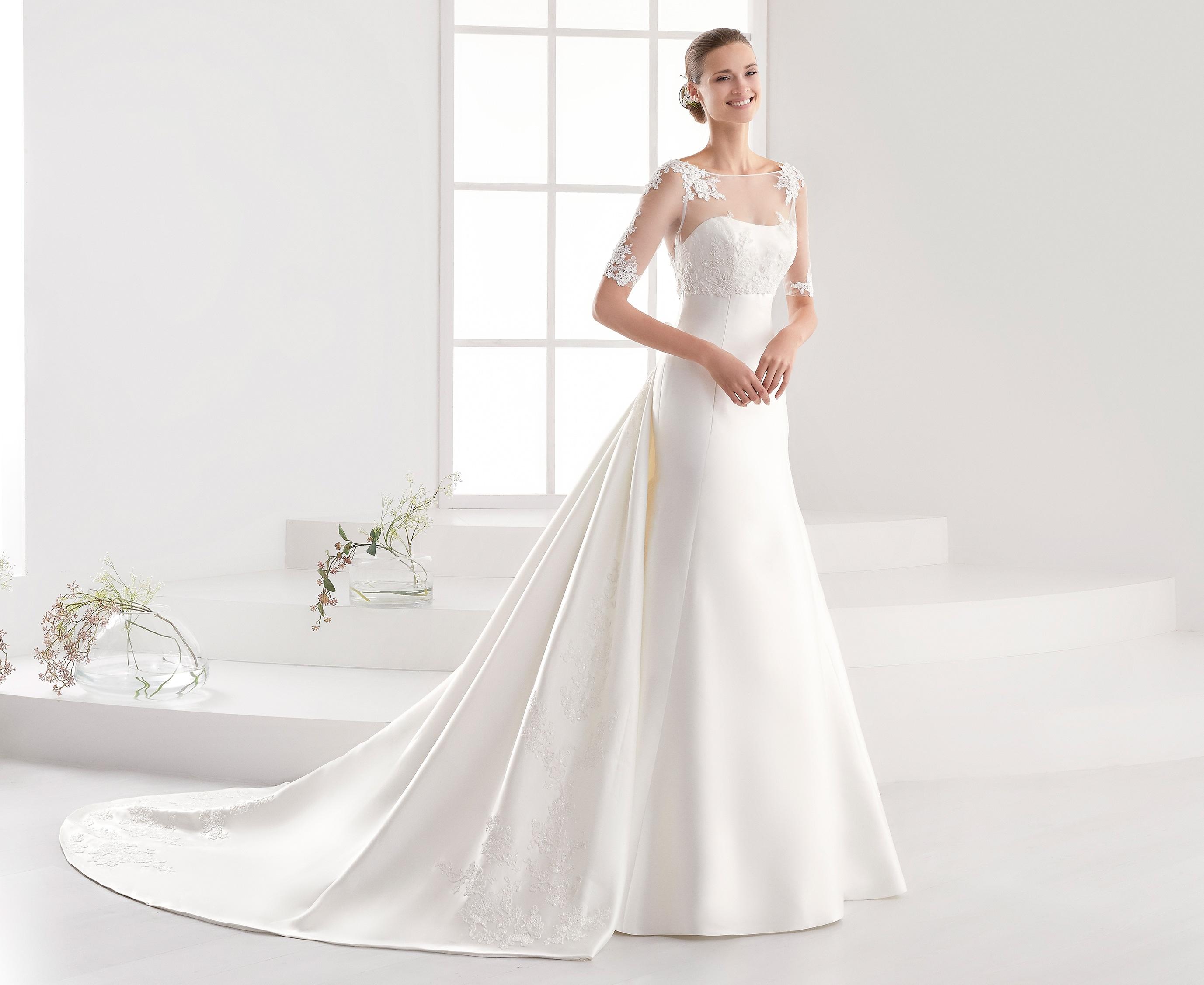 a32e704e74d1 Nicole Spose collezione Aurora 2018 abiti sposa23 ...