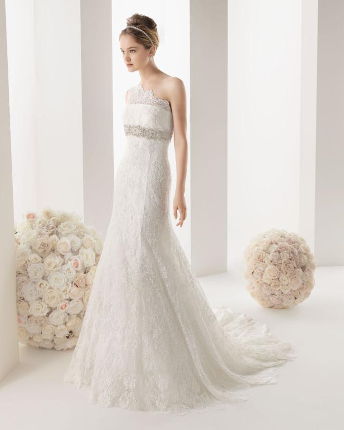 """cda49a55b17d Rosa Clarà   la collezione """"Two"""" di abiti da sposa Spring 2014 ..."""