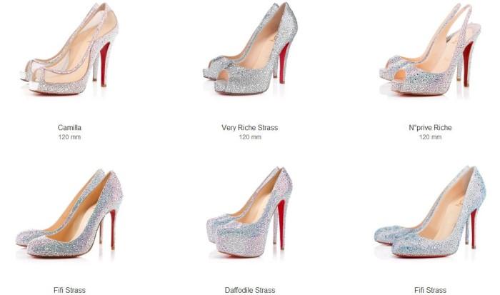 designer fashion 166fd ba244 Scarpe da sposa griffate Louboutin : un desiderio glamour ai ...